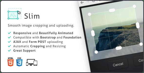 Slim Image Cropper - 图片上传裁剪插件-创客云