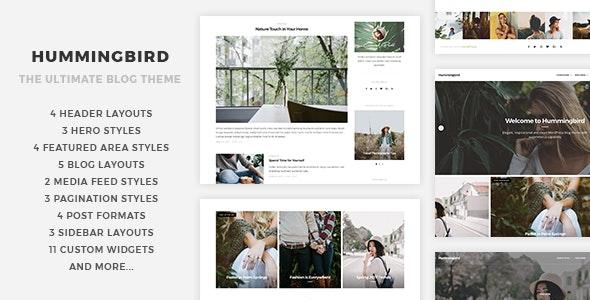 Hummingbird - 终极专业博客WordPress主题-创客云