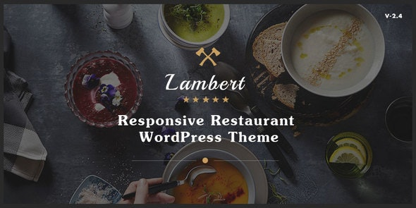 Lambert - 餐厅/咖啡厅/酒吧WordPress主题-创客云