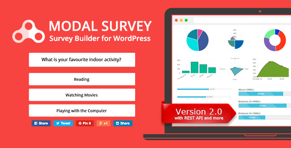 Modal Survey - 问卷调查测试WordPress插件-创客云