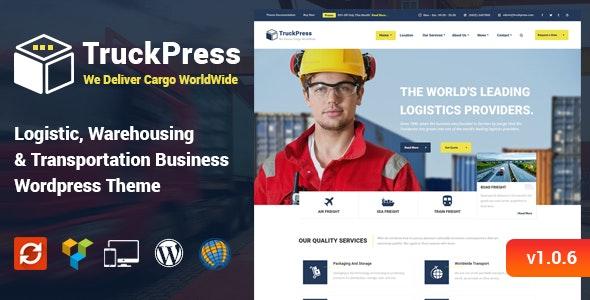TruckPress - 物流仓储WordPress主题-创客云