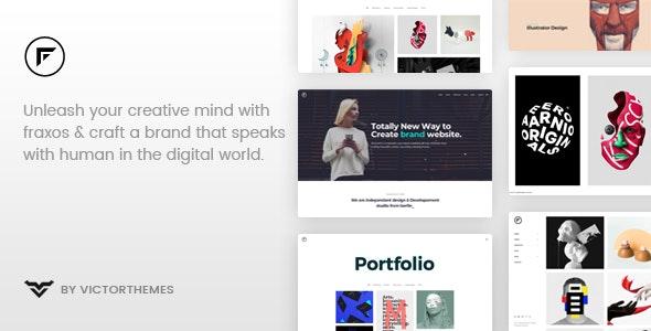 Fraxos - 创意产品展示WordPress主题-创客云
