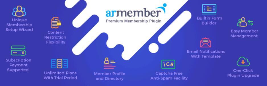 【汉化插件】wordpress顶级网站会员身份管理插件Woocommerce多模块集成 免费版 ARMember v-2.0
