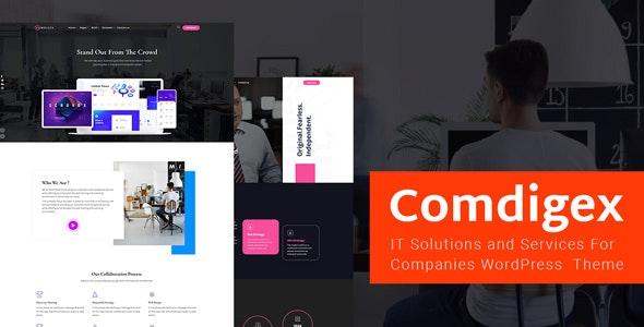 Comdigex - IT信息技术解决方案WordPress主题-创客云