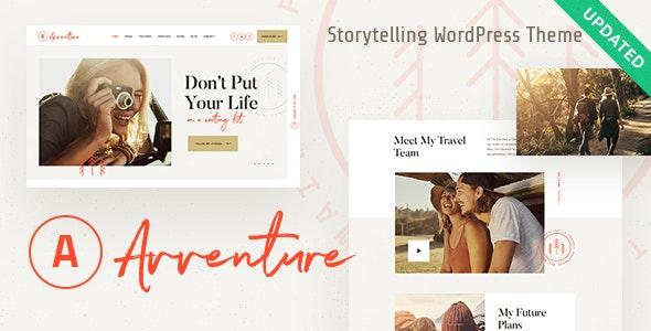Avventure - 个人旅行生活博客WordPress主题-创客云