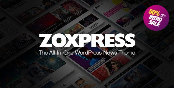 ZoxPress - 新闻博客资讯文章WordPress主题-创客云