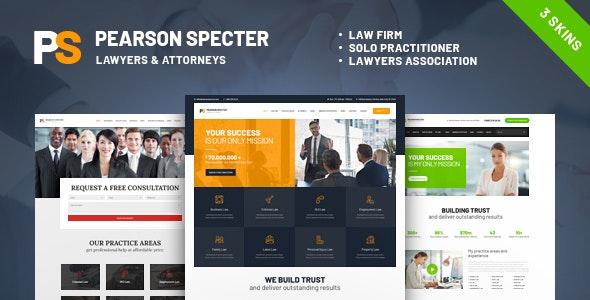 Pearson Spectre - 法律律师事务所网站WordPress主题-创客云