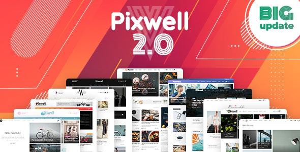 Pixwell - 现代时尚新闻博客模板WordPress主题-创客云