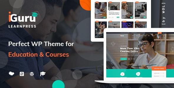 iGuru - 教育培训课程网站WordPress整体-创客云