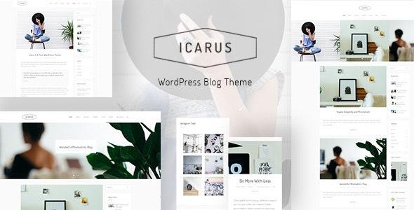 ICARUS - 专业个人博客模板WordPress主题-创客云