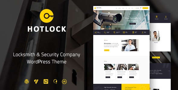 HotLock - 密码锁安防系统WordPress主题-创客云