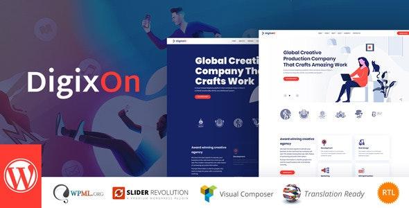 Digixon - 数字营销SEO优化WordPress主题-创客云