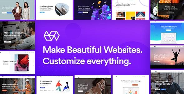 Webify – Elementor 多合一企业网站WordPress主题-创客云