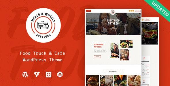 Meals & Wheels - 外卖快速派送网站模板WordPress主题-创客云