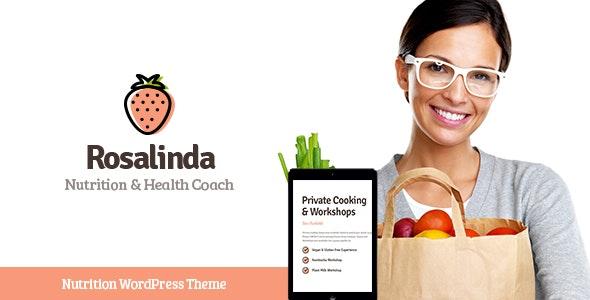 Rosalinda - 健康素食主义者生活博客WordPress主题-创客云