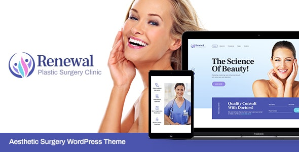 Renewal - 整形外科诊所美容院网站WordPress主题-创客云