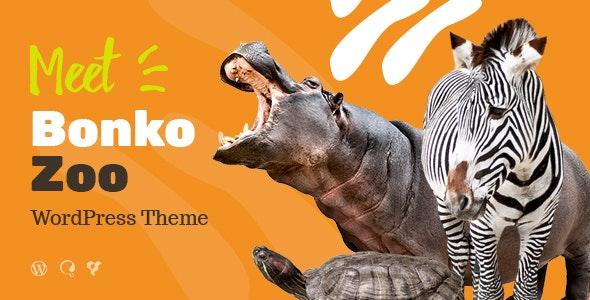 Bonko - 动物园宠物诊所水族馆网站WordPress模板-创客云
