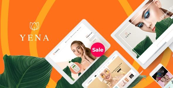 Yena – 美容护肤化妆品WooCommerce电商主题-创客云