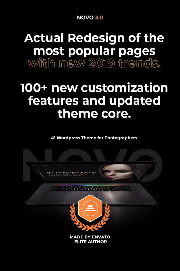 WordPress企业主题Novo摄影作品展示主题
