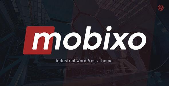 Mobixo - 工厂加工企业网站WordPress主题-创客云