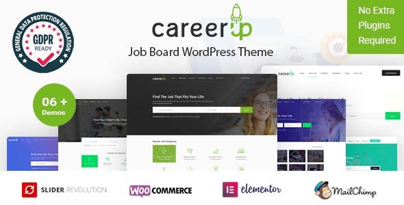 CareerUp - Job 求职招聘WordPress主题-创客云
