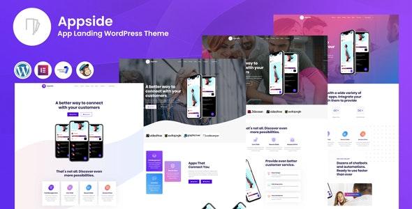 Appside - App应用程序着陆页WordPress模板-创客云