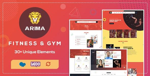 Arima - 体育拳击瑜伽WordPress主题-创客云