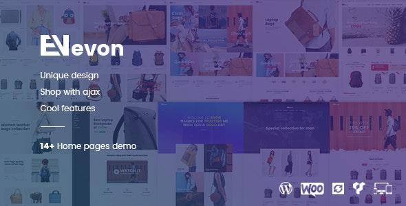 Evon - 专业背包时尚包包商店WordPress主题-创客云