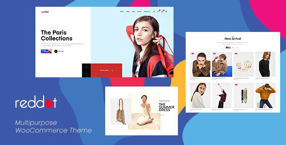 Reddot - 现代时尚鞋服饰品商店模板WooCommerce主题-创客云