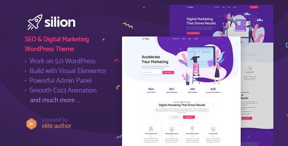 Silion - 数字营销推广公司网站WordPress主题-创客云