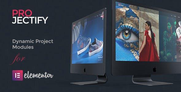 Projectify – Elementor Page Builder 作品编辑器 – v2.0