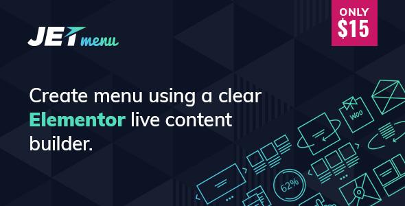 JetMenu – Mega巨型菜单构建器WordPress插件 – v2.0.3