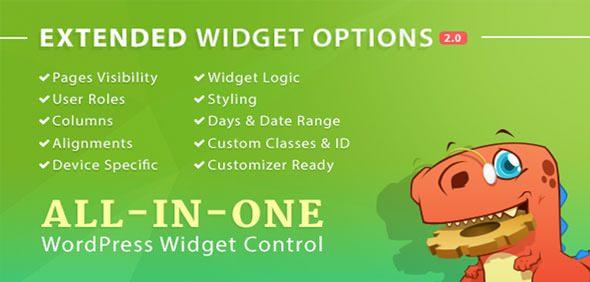 Extended Widget Options – 多合一小工具插件 – v4.6.1