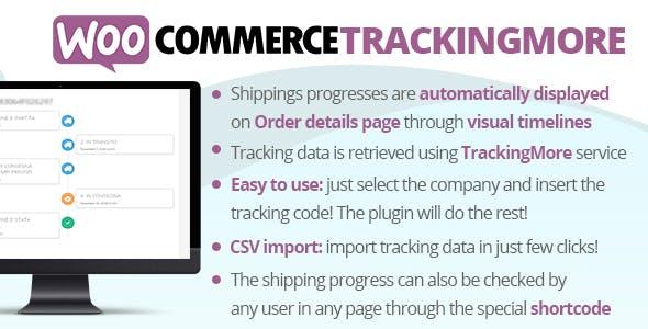 WooCommerce TrackingMore 物流跟踪插件 – v2.6