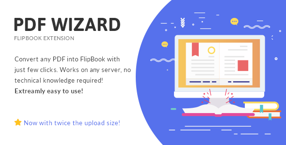 PDF To FlipBook Extension – WordPress转换插件 – v3.2
