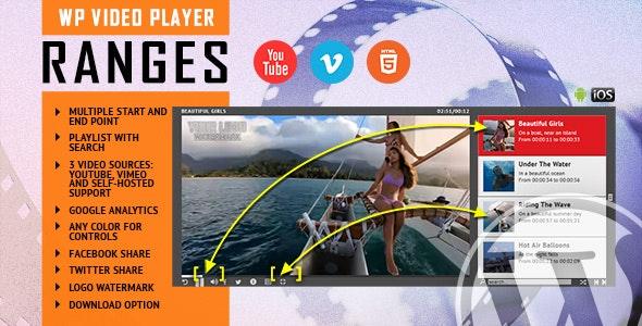 RANGES – 自定义播放区间HTML5播放器WordPress插件