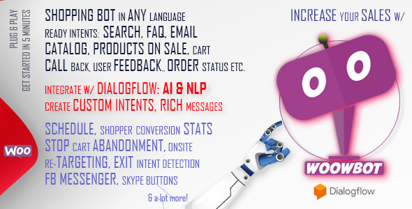 WoowBot – Chat Bot for WooCommerce 客服插件 – v12.3.1