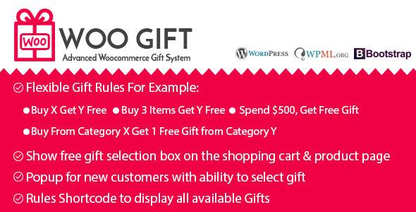 Woo GiftWoo Gift – 高级Woocommerce礼品插件 – v5.2