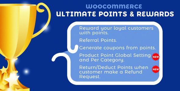 WooCommerce Ultimate Points And Rewards 终极积分和奖励 – v2.0.11
