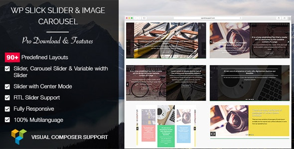 WP Slick Slider and Image Carousel Pro 幻灯片轮播滑块插件 – v1.5.2