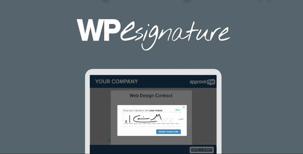 WP E-Signature + Addons 合同文件签名插件 – v1.5.5.5