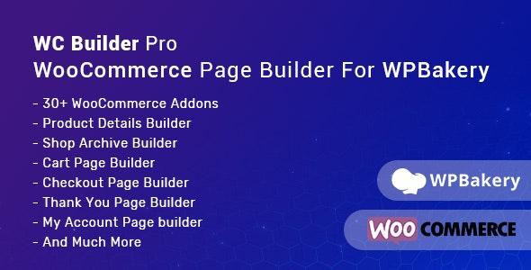 WC Builder Pro – WPBakery 商品页面构建器插件 – v1.0.5