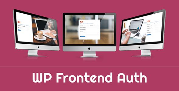 WP Frontend Auth 前端注册登陆认证插件 – v1.8.2