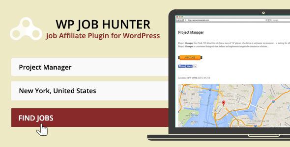 WP Job Hunter – 求职招聘WordPress插件 – v1.9.3