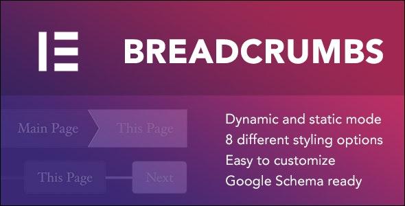 Breadcrumbs for Elementor 面包屑插件Elementor扩展 – v1.1