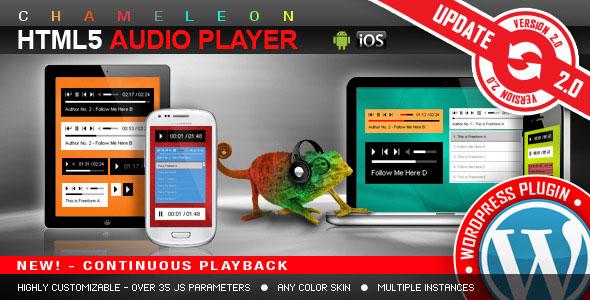 HTML5 Audio Player WordPress Plugin HTML5音频播放器插件 – v3.3