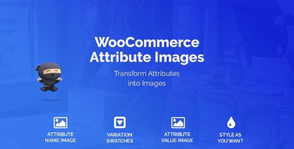 WooCommerce Attribute Images 可变属性转换图像插件 – v1.1.6