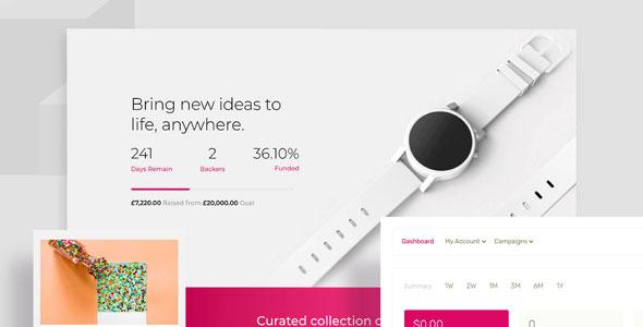 WP Crowdfunding Pro 商品众筹项目筹款插件 – v11.1.3