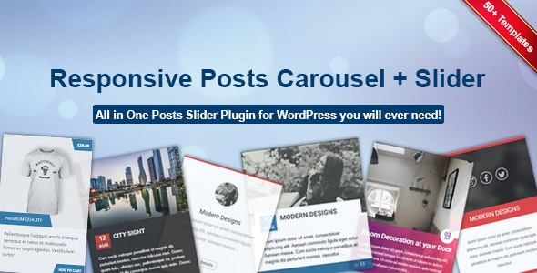 Responsive Posts Carousel – 响应式文章轮播插件WordPress插件 – v1.3.6