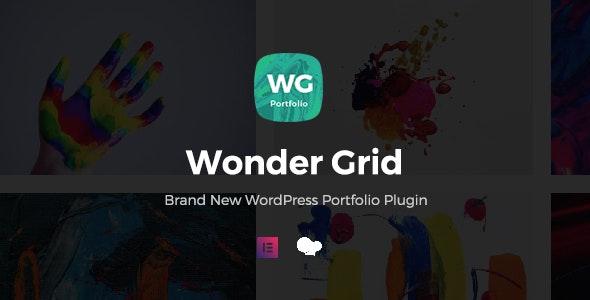 Wonder Grid – 可视化作品网格展示WordPress插件 – v1.0